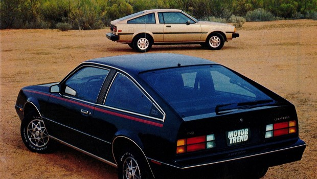 Mercedes Benz Of Austin >> » 1982 Chevrolet Cavalier CL Type 10 vs Toyota Corolla SR5 Test Drive