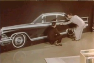 Looking back: 1959 Body By Fisher Promo - Up from clay, A car is born.