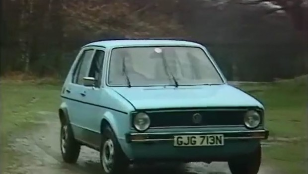1974 volkswagen golf rabbit test drive. Black Bedroom Furniture Sets. Home Design Ideas