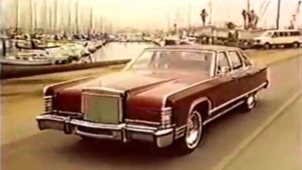 1977 lincoln continental commercial. Black Bedroom Furniture Sets. Home Design Ideas