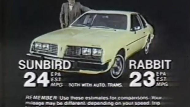 Mazda 3 Hatchback Used >> » 1980 Pontiac Sunbird Commercial