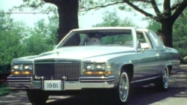 1981 Cadillac Fleetwood Brougham Manufacturer Promotional Video