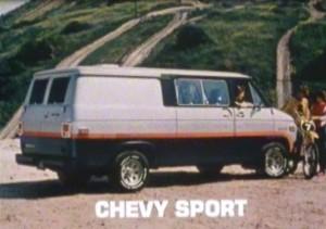 "IMCDb.org: 1981 Chevrolet Chevy Van in ""The Video Dead, 1987"""