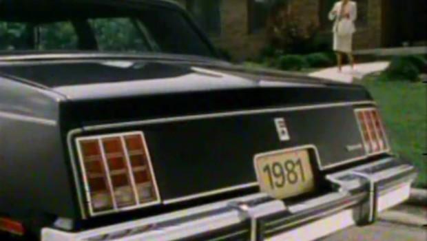 1981 oldsmobile cutlass sedan manufacturer promo test drive junkie