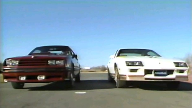 Looking Back 1982 Chevy Camaro Z28 vs Ford Mustang GT Video