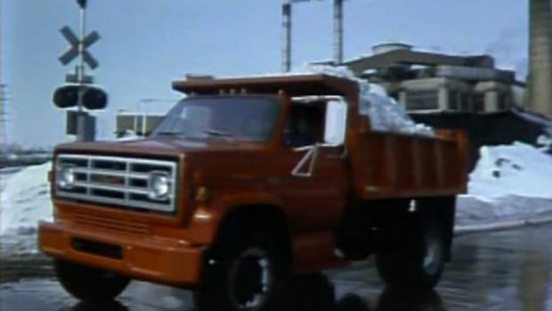 1982 gmc medium duty dump trucks manufacturer promo