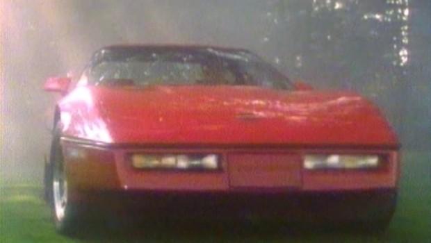 187 1984 Chevrolet Corvette C4 Manufacturer Promo