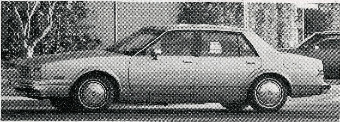 1984: GM's X/A body?