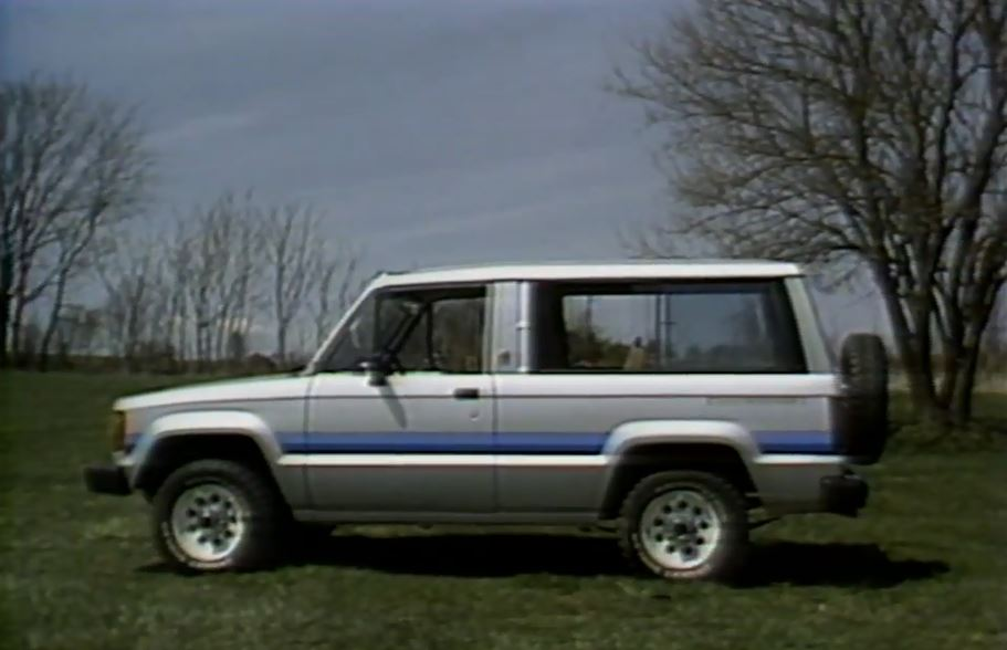 1984 isuzu trooper ii test drive