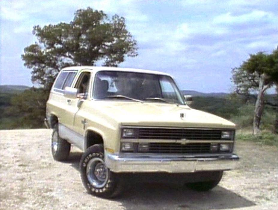 1984 Chevrolet K Blazer Manufacturer Promo