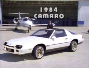 Lookng Back 1984 Chevrolet Camaro Laserdisc Promo