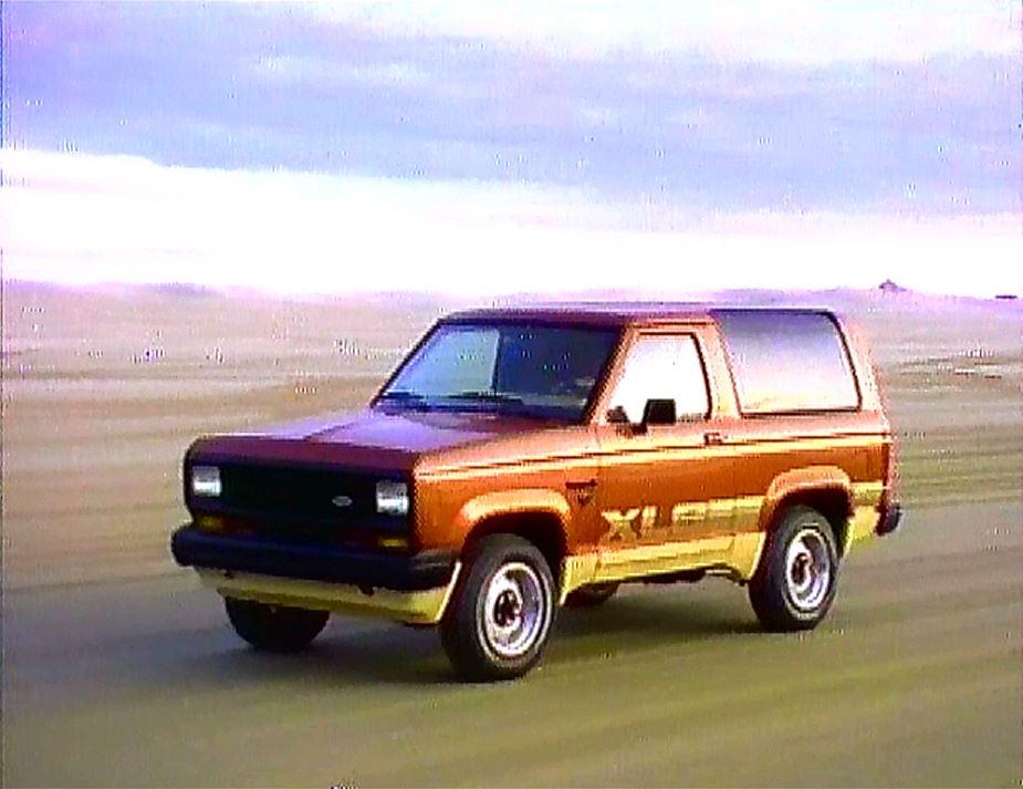 1984 ford bronco ii manufacturer promo
