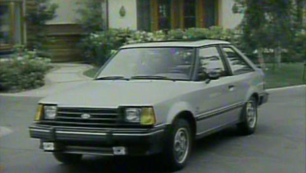 187 1984 Ford Escort Manufacturer Promo