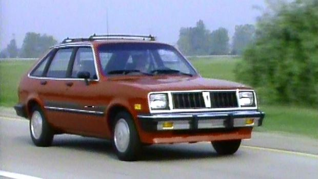 187 1984 Pontiac 1000 Manufacturer Promo