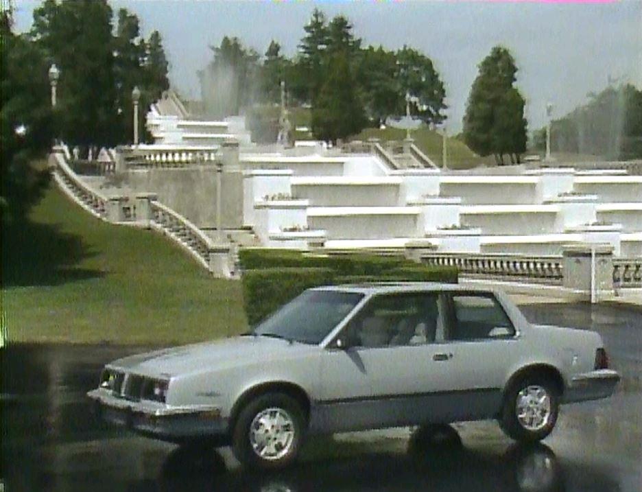 187 1984 Pontiac 6000 Manufacturer Promo