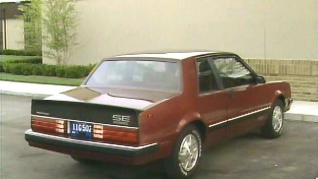 187 1984 Pontiac Phoenix Manufacturer Promo