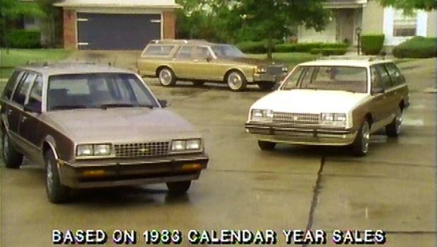 1985 chevrolet station wagon manufacturer promo test drive junkie