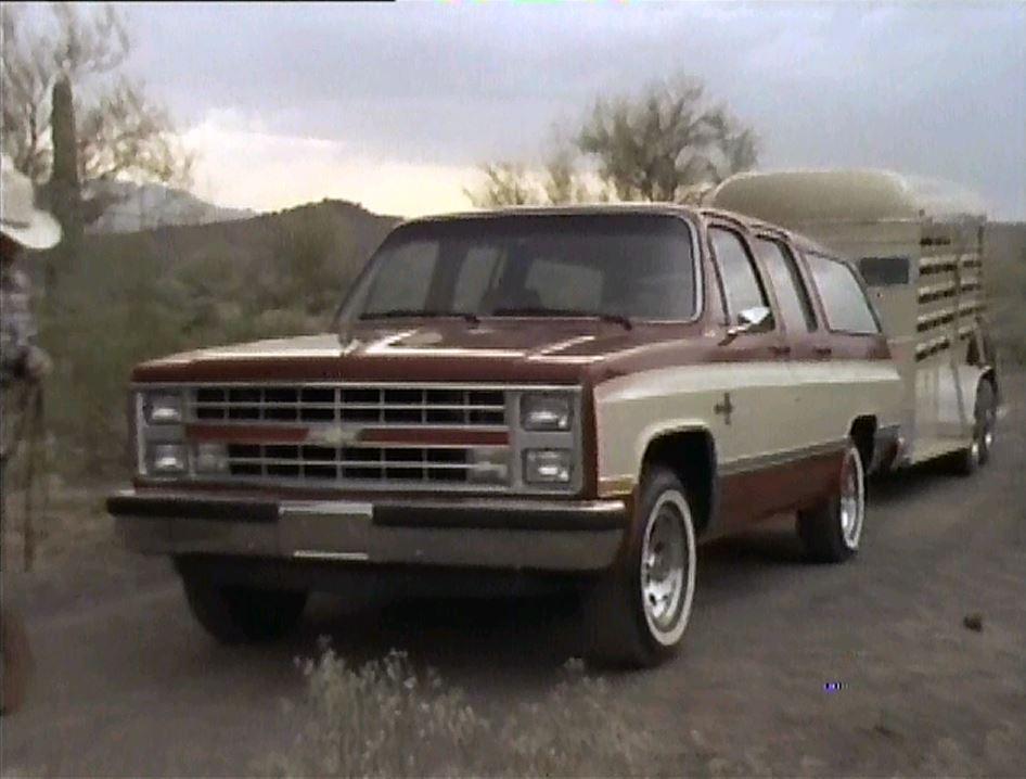 » 1985 Chevrolet Suburban Manufacturer Promo