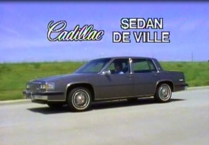 » 1985 Cadillac DeVille Manufacturer Promo