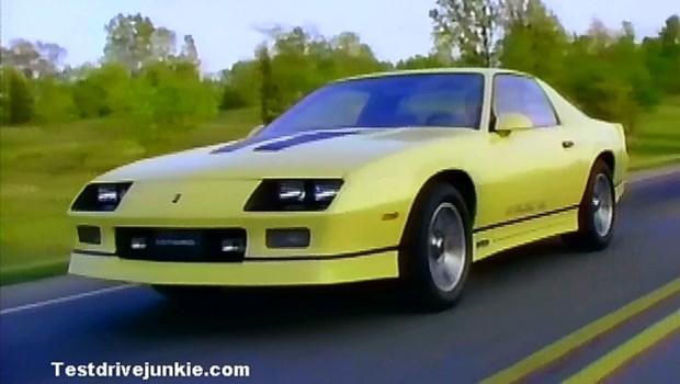 187 1985 Chevrolet Camaro Manufacturer Promo