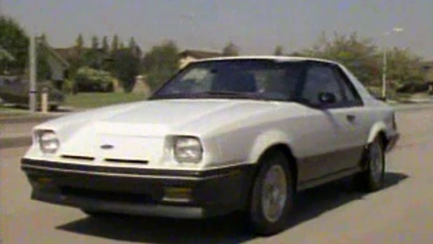 187 1985 Ford Exp Manufacturer Promo