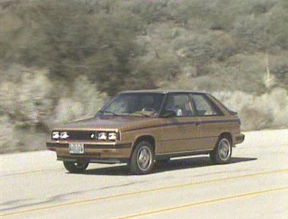 » 1985 Renault Alliance & Encore vs Competition ...