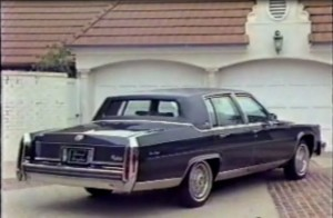 1986 Cadillac Fleetwood Brougham Promo