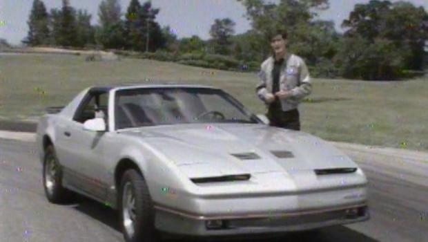 1986 pontiac firebird trans am manufacturer promo test drive junkie