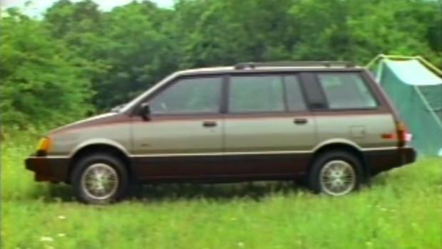 1987 Dodge Colt Vista Manufacturer Promo