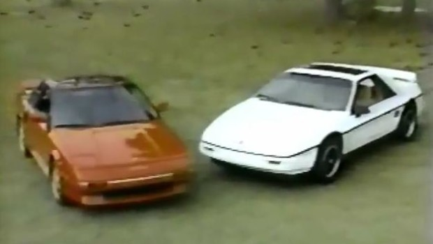 187 1988 Pontiac Fiero Formula Vs Toyota Mr2 Comparison Test