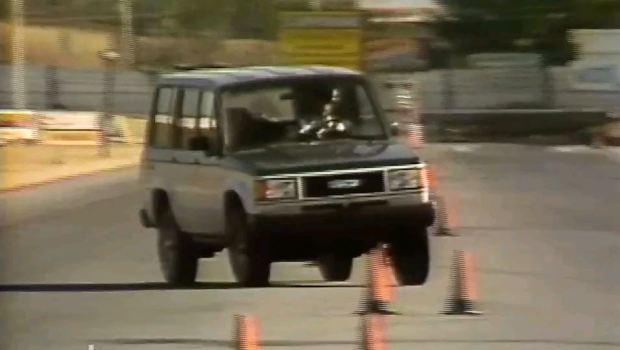 1988 Isuzu Trooper Ii Test Drive