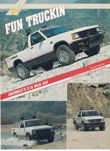 Baja Article Page X on 1992 Chevy Lumina Colors
