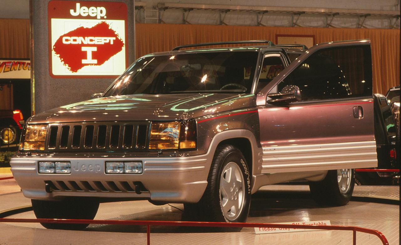 Jeep Concept B on 1991 Jeep Cherokee 4x4