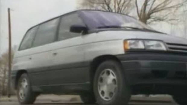 Lexus Is 350 >> » 1989 Mazda MPV Test Drive