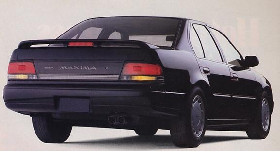 187 1989 Nissan Maxima Commercial 4dsc