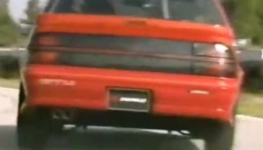 1989 chevrolet beretta gtu promo