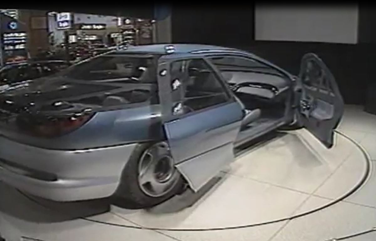 Chrysler Millenium Safety Car on 1992 Dodge Ram