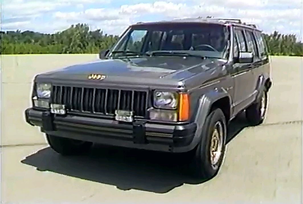 187 1989 Jeep Eagle Model Rolling Stock Footage
