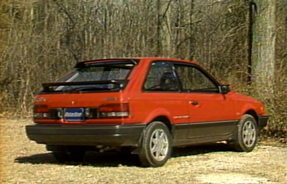 U00bb 1989 Mazda 323 Gtx Test Drive