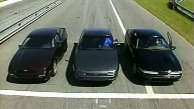 187 1989 Ford Probe Gt Vs Nissan 240sx Vs Plymouth Laser