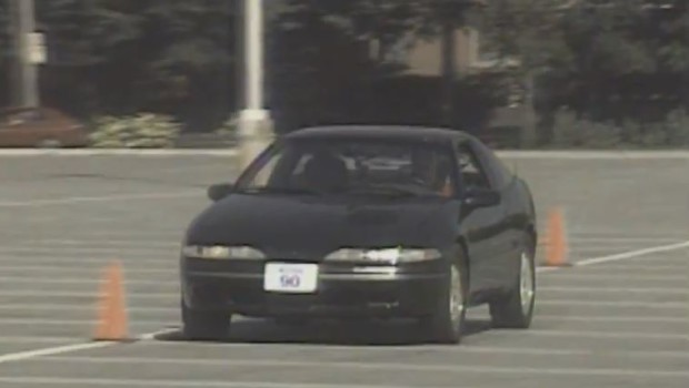 1990 Plymouth Laser RS Turbo Test Drive