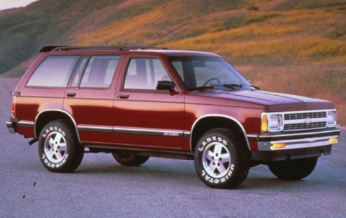 187 1991 Chevrolet S10 Blazer 4dr