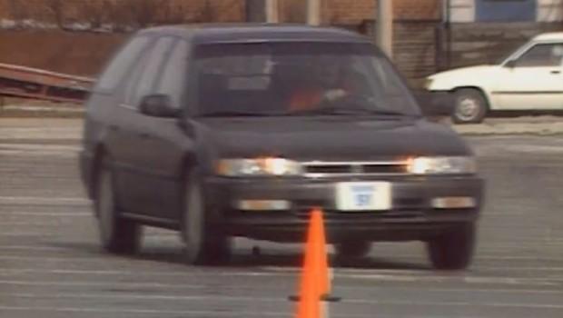 1991 Honda Accord Station Wagon Test Drive