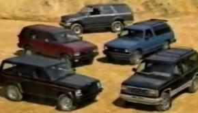1991 SUV Comparison