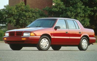 187 1991 Dodge Spirit Plymouth Acclaim Commercial