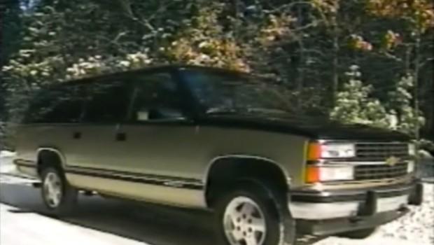 chevrolet suburban test drive