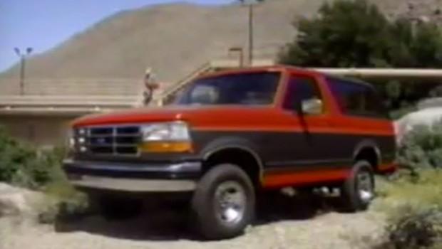 » 1993 Ford Bronco Manufacturer Promo
