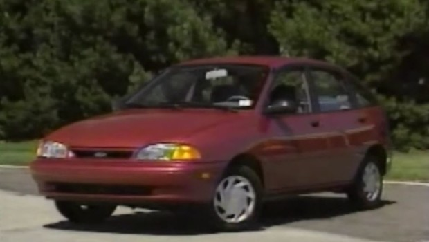 187 1994 Ford Aspire Preview Test Drive