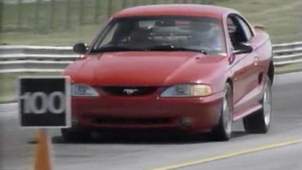 Test Svt Ford Cobra 1994½ Mustang Drive