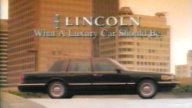1995 Lincoln Towncar Commercial
